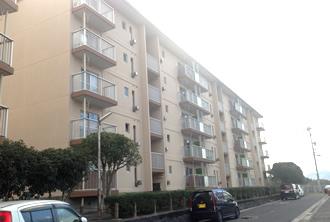 福岡県住宅供給公社塗装工事