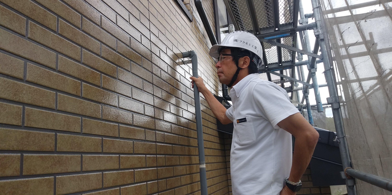 福岡県古賀市K様邸施工5日目修正清掃完了検査作業